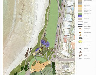 Hallett Cove Foreshore Master Plan Site Plan