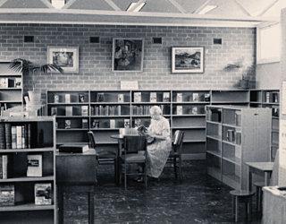 Harriet Pitman Reading 1959