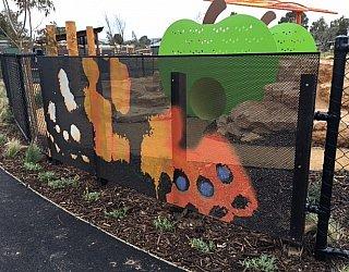 Jervois Street Butterly Fence