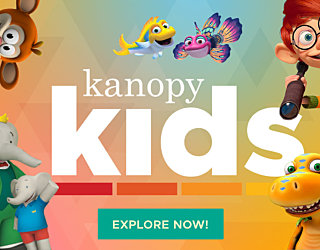 Kanopy Kids Email Banner USCA Explore