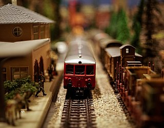 Life in Miniature History of Model Railroading