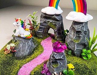 Life in Miniature Unicorn Worlds Workshop