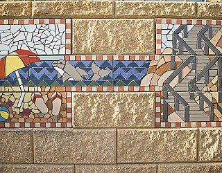 Marino Mosaic Toliets