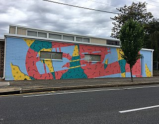 Marion City Band Mural