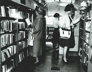 Mobile Library Inside 1963