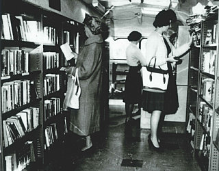 Mobile Library Inside 1963