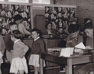 Pitman Library Children Desk Juliana Bayfield 1960