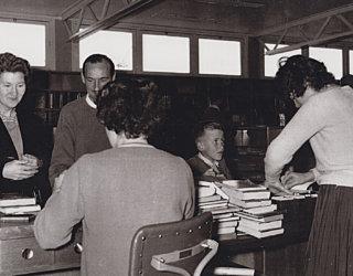 Pitman Library Customers 1960
