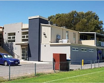 Cove sports club frontage