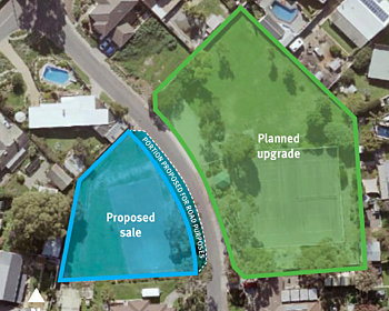 Mc Connell Avenue Reserve Map