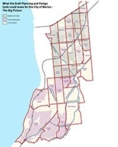 City of Marion - Draft Planning and Design Map