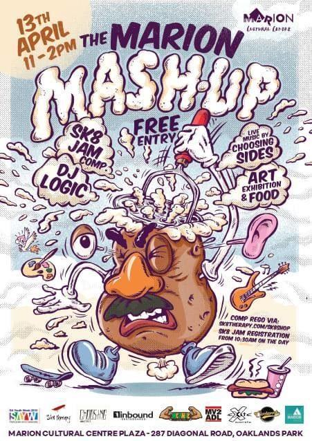 Marion Mash Up Poster