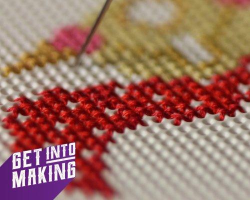 Get Into Making Cross Stitch