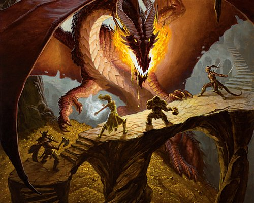Dungeons and Dragons Promotional Image
