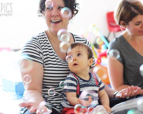 Baby Sensory July 2021 Bubbles