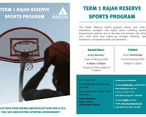 Cd Term 1 Rajah Sports Flyer