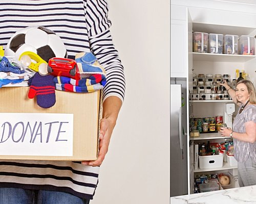 Declutter and get organised