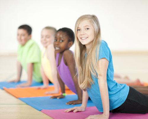 Kids yoga image