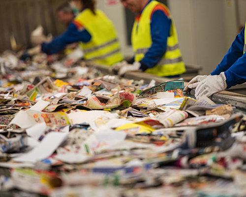 MRF paper sorting