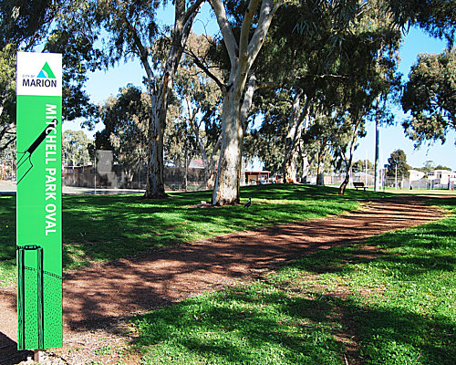 Mitchell Park Sign Small