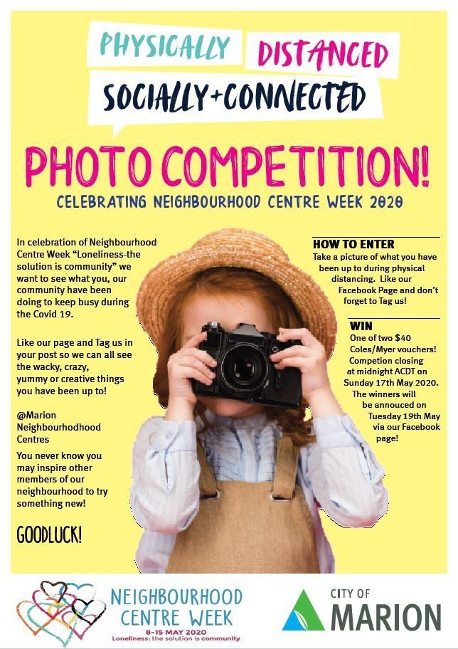 NC Week Photo Competition Poster