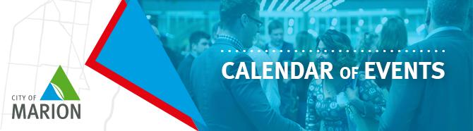 Calendar Of Events Header