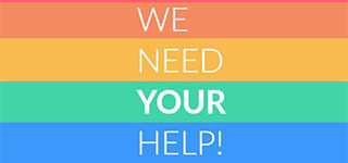 We Need Your Help 320 x 150